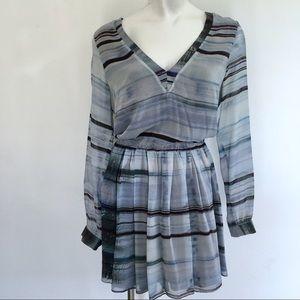RORY BECA   SILK LINED   V NECK DRESS.  E22
